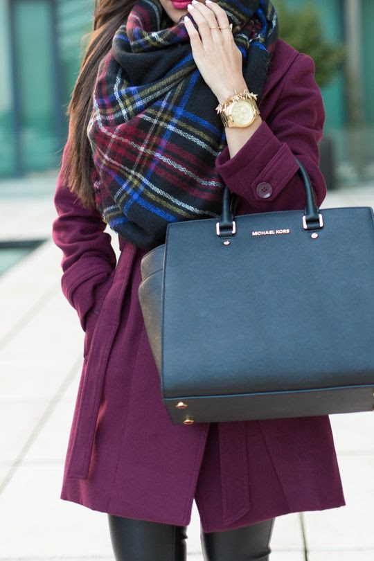 Oasis Tokyo Coat // Zara Scarf // Blanc Denim Vegan Leather Pants // Christian Louboutin Iriza Leopard Shoes // Michael Kors Selma Tote (sma...