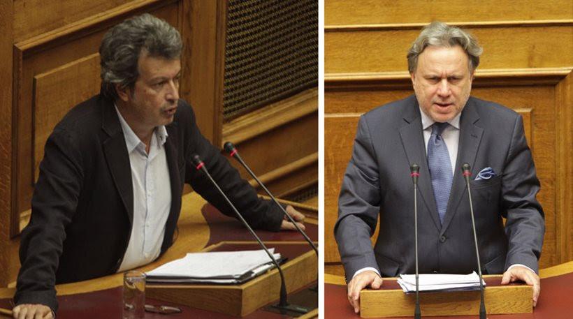 Τατσόπουλος κατά Κατρούγκαλου: Γ...ε μας ρε τζιτζιφιόγκο που μιλάς για Βάρκιζα