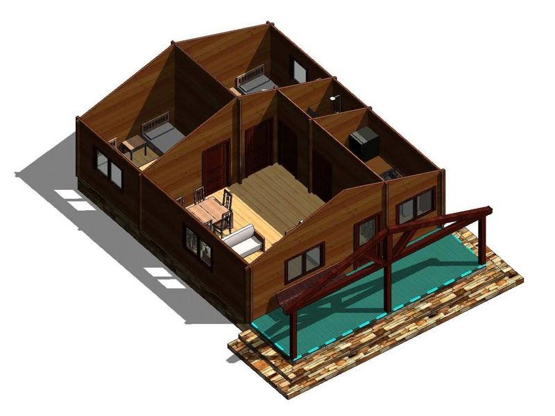 Casas de madera prefabricadas casas de madera baratas en galicia - Casas de madera galicia precios ...
