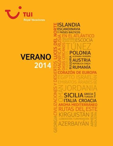 Catálogo Royal Vacaciones 2014