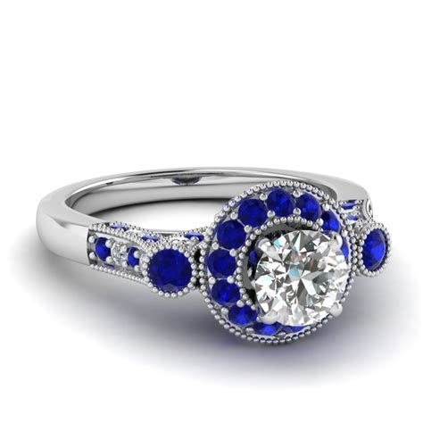 Extraordinary Styles Of Sapphire Engagement Rings Online