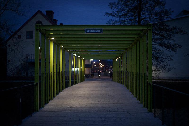 Bridge over fyris river