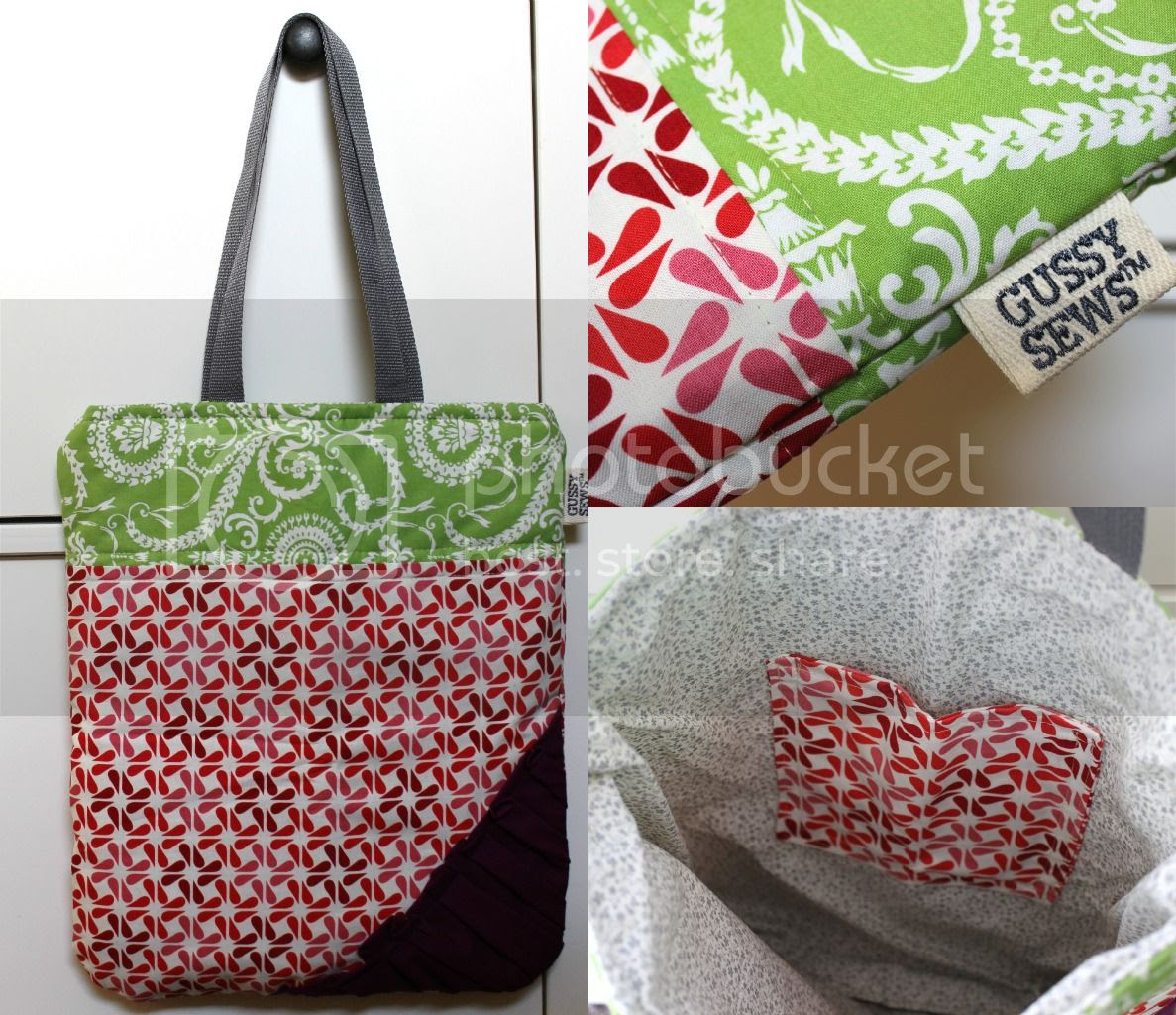 Gussy Sews Market Tote