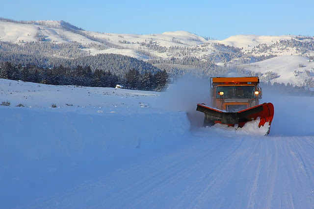 IMG_5867 Snow Plowing, Yellowstone National Park