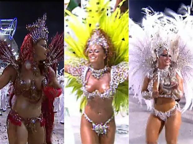 Viviane Araújo conta que gostou tanto do primeiro desfile que não parou mais (Foto: Vídeo Show / Gshow)