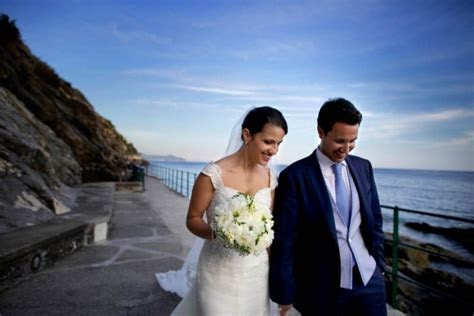 Elegant Italian Wedding by the Sea   Junebug Weddings