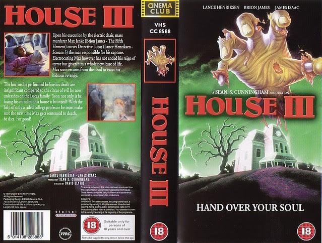 House 3 (VHS Box Art)