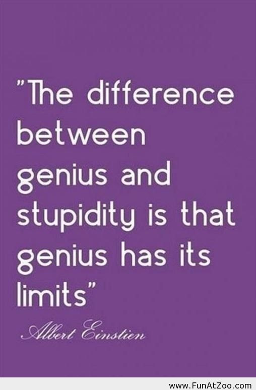 Genius Funny Quotes. QuotesGram