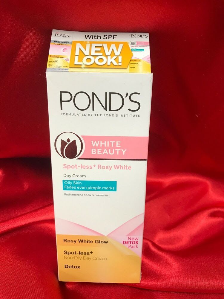 PONDS White Beauty Detox Spot-Less White Cream Triple ...