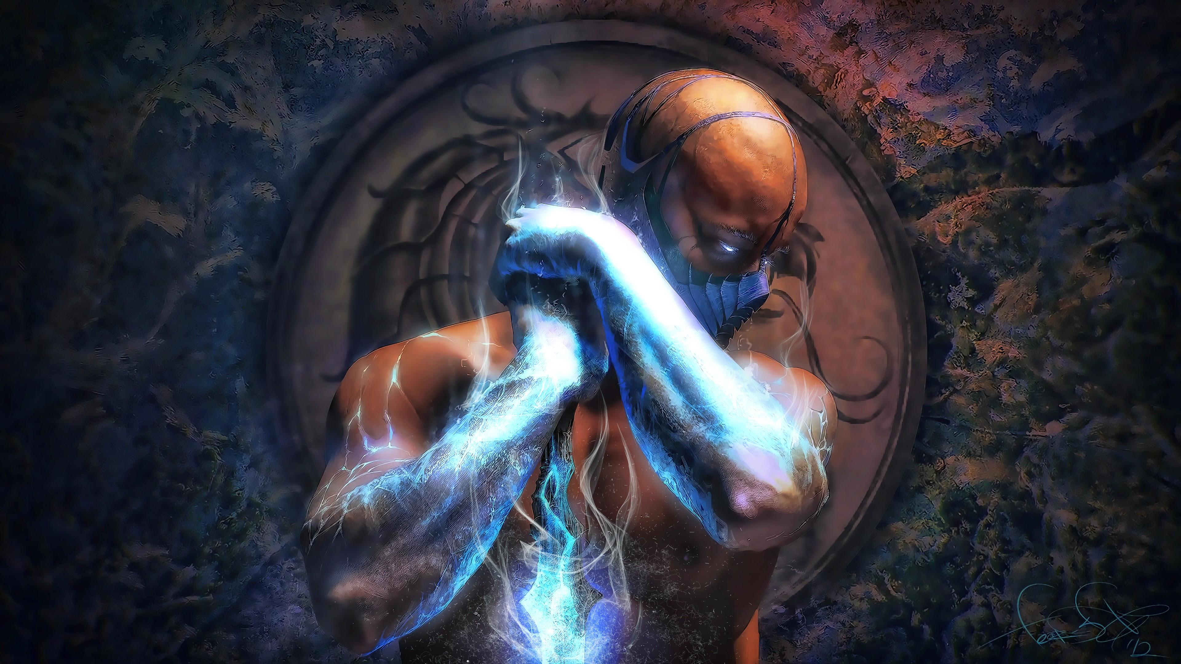 Sub Zero Mortal Kombat X 4k Wallpapers Hd Wallpapers