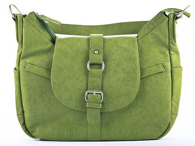 Kelly Moore Camera Bag B-Hobo Grassy - Front View