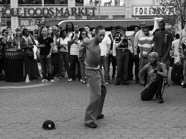 Contortionist, Union Square