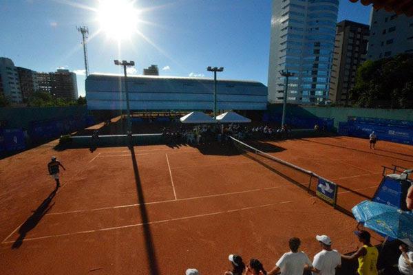 As quadras do Aeroclube serão palco das disputas que devem envolver cerca de 400 tenistas