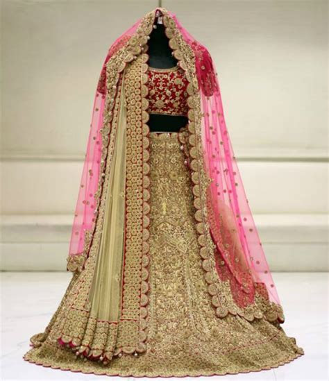 Top 10 Places From Where You Can Pick Up Your Lehenga In