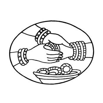 Hindu Marriage Logo For Card   ClipArt Best