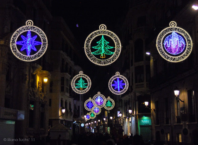 Murcia - Christmas lights