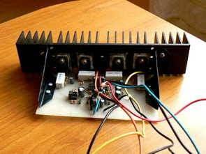Bộ khuếch đại công suất 100W với ổ Hi-Fi TDA7250