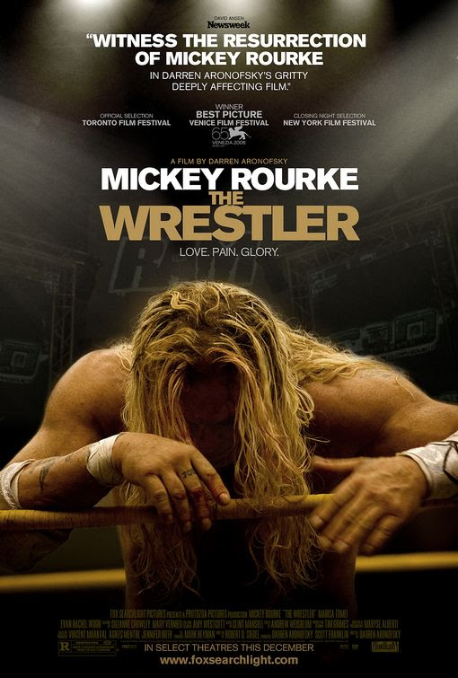 Risultati immagini per the wrestler movie poster