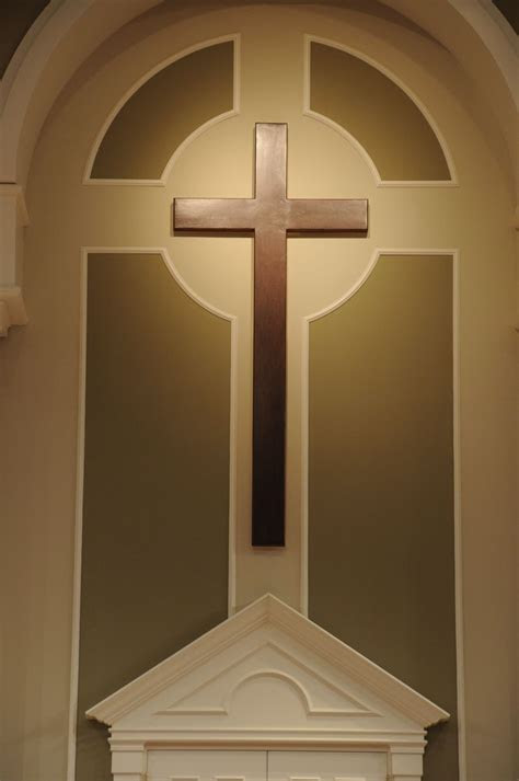 Hand Crafted Church Cross by Yoder Custom Design