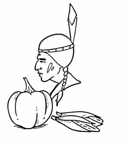98 Coloring Pages Of Indian Corn Images & Pictures In HD