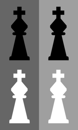 Download Color Wheel of 2d Chess Set Knight clipart