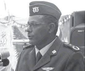 General Teklai Habteselassie, the Commander of the Eritrean Air Force