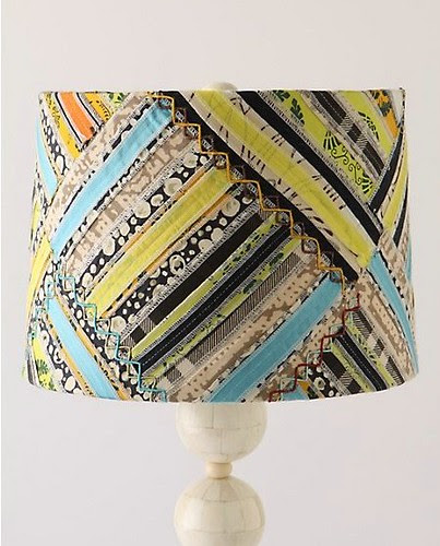 new lampshade. inspiration