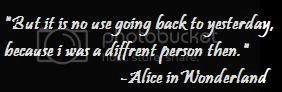 alice in wonderland quote Pictures, Images and Photos
