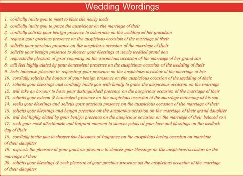 Indian personal wedding invitation wordings for friends