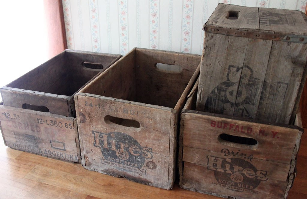 Five New, Old Crates