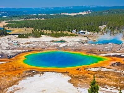 Resultado de imagem para Parque de Yellowstone, Estados Unidos