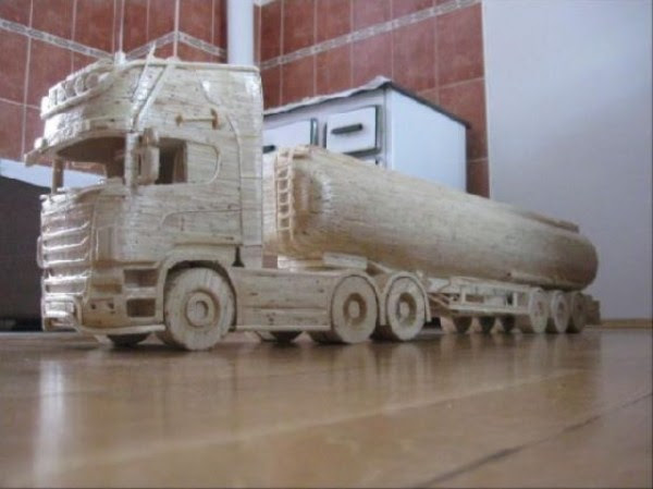 933 Impressive Matchsticks Vehicles (20 photos)