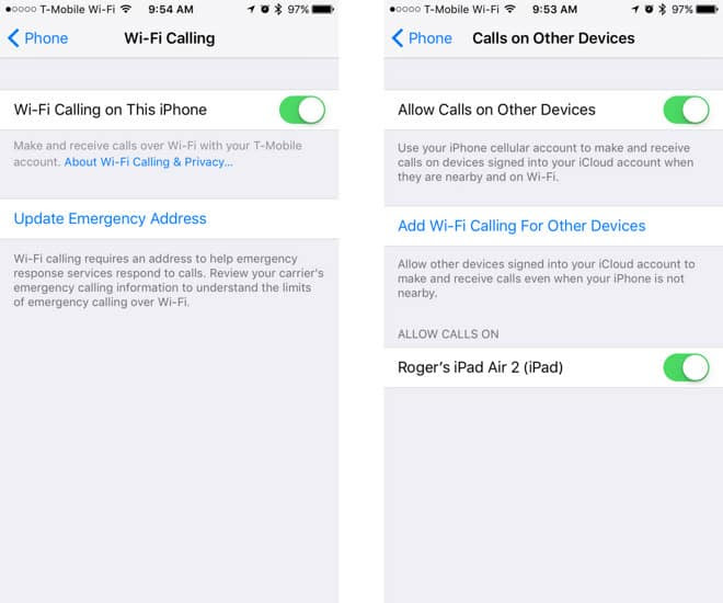 Quick Tip Enable Wi-Fi calling on iPhone
