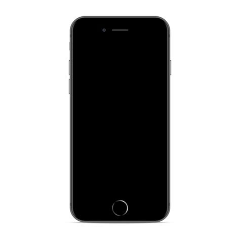 iphone  space grey mock