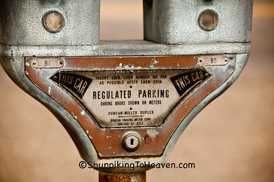 Old-Fashioned Duncan Parking Meter, Pomeroy, Ohio