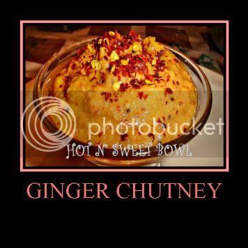 Ginger Chutney