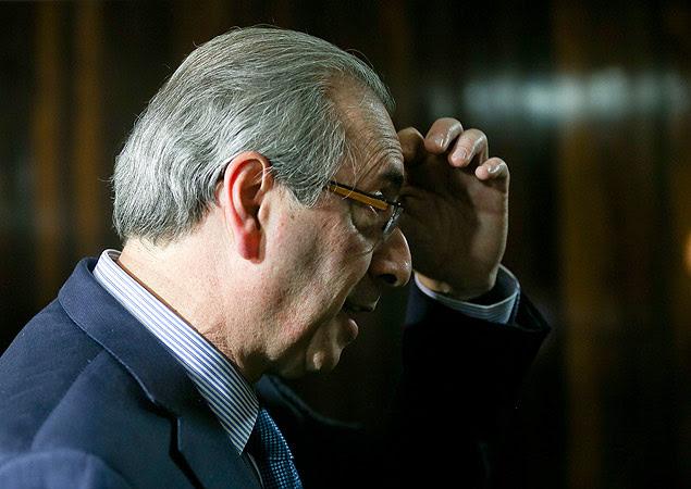 O presidente da Câmara, Eduardo Cunha (PMDB)