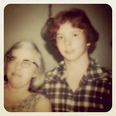 Me at sixteen with my mom. Got my drivers license the day I turned 16, wrecked the car the very next day. by ObieVIP