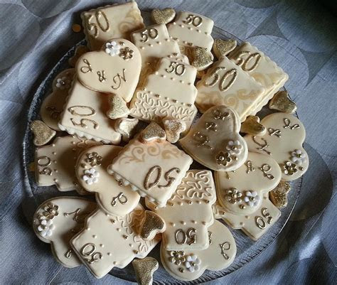 50th Wedding Anniversary Platter   Cookie Connection