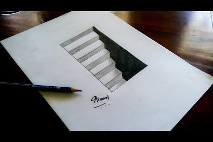 Paling Baru Sketsa Gambar 3 Dimensi Yang Mudah Dibuat