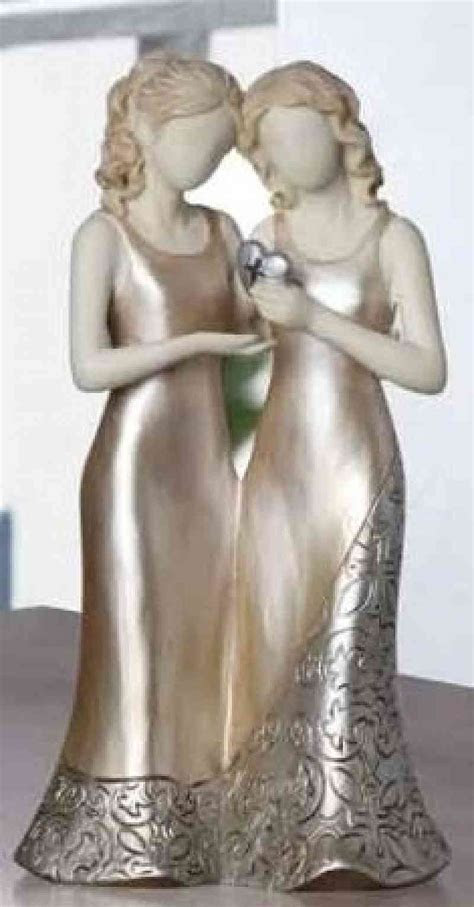 Wedding Cake Topper for Gay, Lesbians   Wedding Collectibles