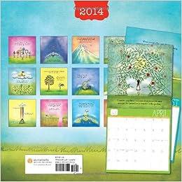 2014 In The Garden Of Thoughts Wall Calendar Dodinsky