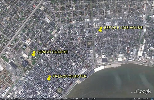 location of Before I Die house (via Google Earth)