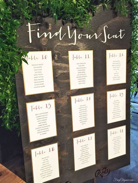 diy wedding seating chart   Google Search   Come the day