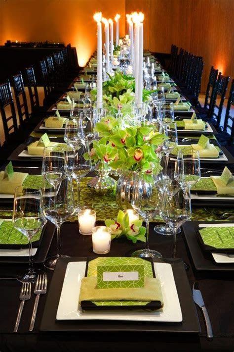 elegant wedding centerpieces, green wedding ideas   Mint