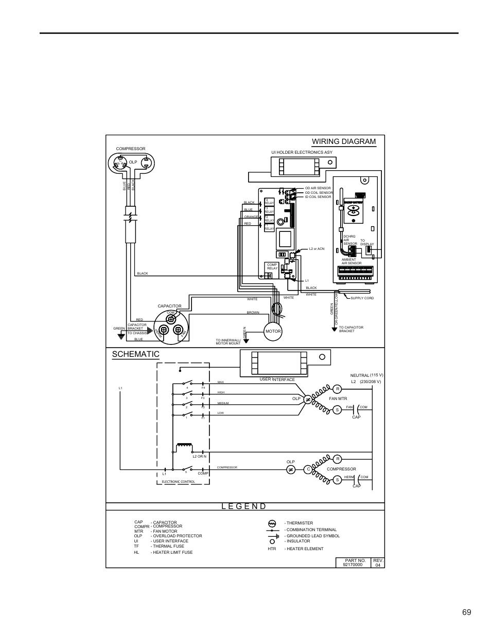 Friedrich Air Conditioner Wiring Diagram