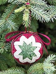 Heirloom Ball No-Sew Ornament Pattern