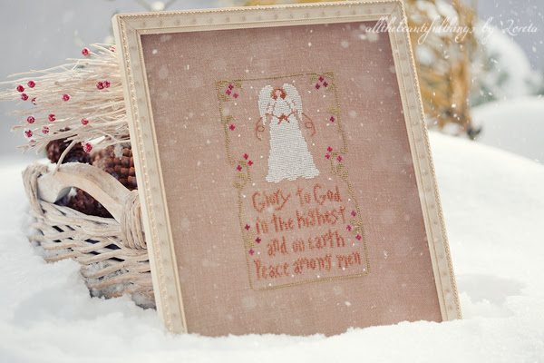 The Angels Sang (Little House Needleworks)