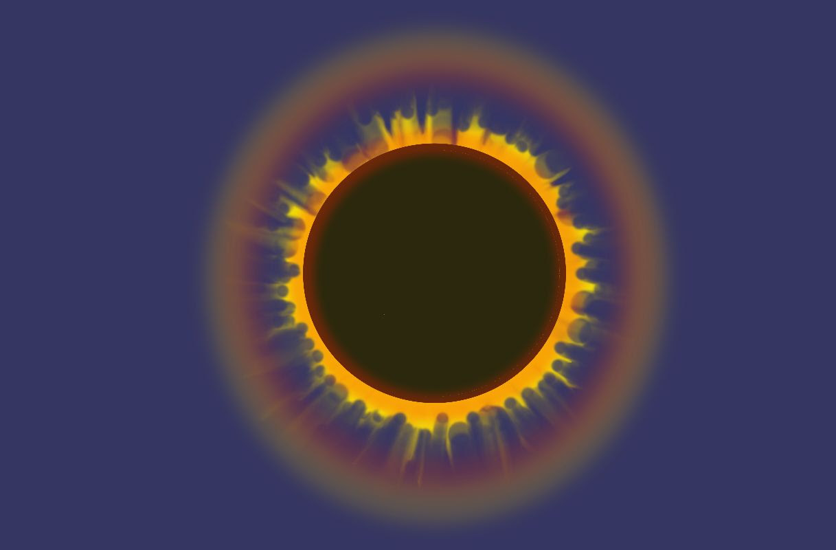 Eclipse Solar, por Juan Merino Merino