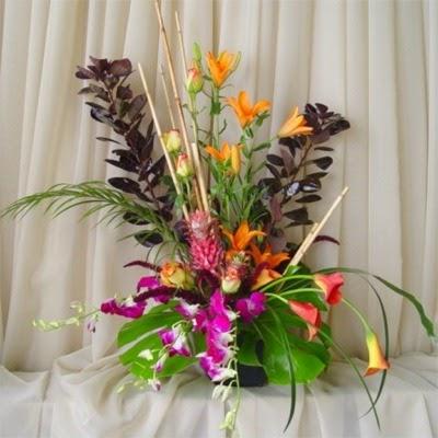 Cheap Silk Wedding Flowers Christmas Flower Arrangement